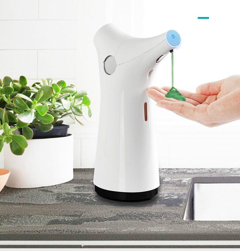 Distributeur de savon induction automatique distributeur de savon cuisine station de toilette évier maison désinfectant pour les mains boîte