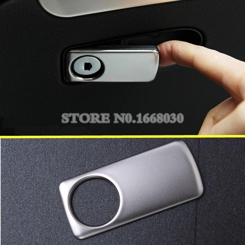 Интерьер перчатки коробка кнопку крышка отделка 1 шт. для Benz V-Class W447 2014-2018