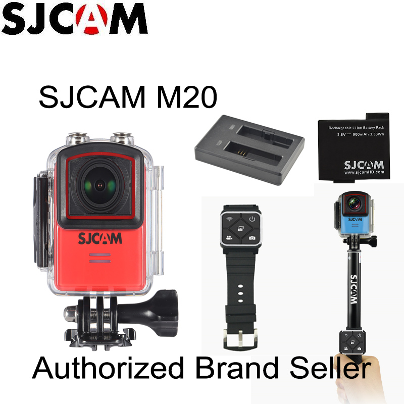 Newtest SJCAM M20 Wifi Gyro Sport Action Camera HD 2160P 16MP 4K Waterproof DV Bluetooth watch