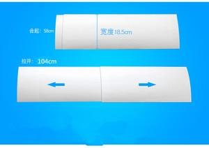 Image 5 - Anti Direct Blazen Intrekbare Airconditioning Cover, Ventilator Wind Deflector Baffle Ventilator Airconditioning Onderdelen