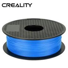 CREALITY 3d принтер PLA образцы нитей 1 шт. 1 кг/рулон 1,75 мм синий цвет для 3d принтера/Reprap/Makerbot