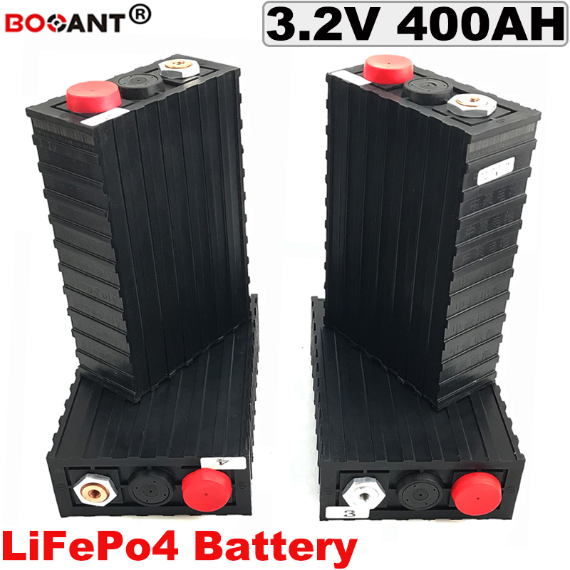 3.2V LiFePo4 Battery 12V 24V 36V 48V 60V 72V 400Ah For Electric Bike , Solar Energy Storage Lithium Battery pack  3.2V 400AH
