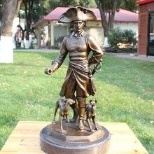 King isseka bronze works of art decoration figure statue Home Furnishing jewelry gift hotel