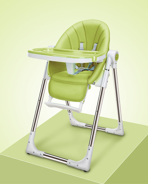 high folding chair toddler table and chairs canada for kids portable baby seat dinner adjustable children feeding
