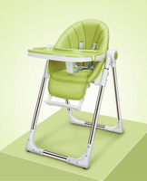 High Chair For Kids Portable Baby Seat Baby Dinner Table Adjustable Folding Chairs For Children Feeding Chairs Table