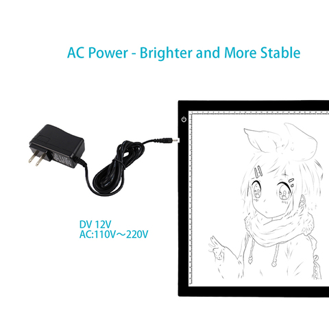 Huion New A2 LED Tracing Boards Ultra Thin Light Pads Professional Animation Tracing Light Boxes LED Light Pad Panels Multan