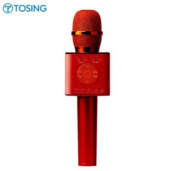 Originale Tosing Q7 Q12 04 Karaoke Microfono senza fili Altoparlante del Bluetooth 2-in-1 Portatile Cantare e La Registrazione KTV lettore