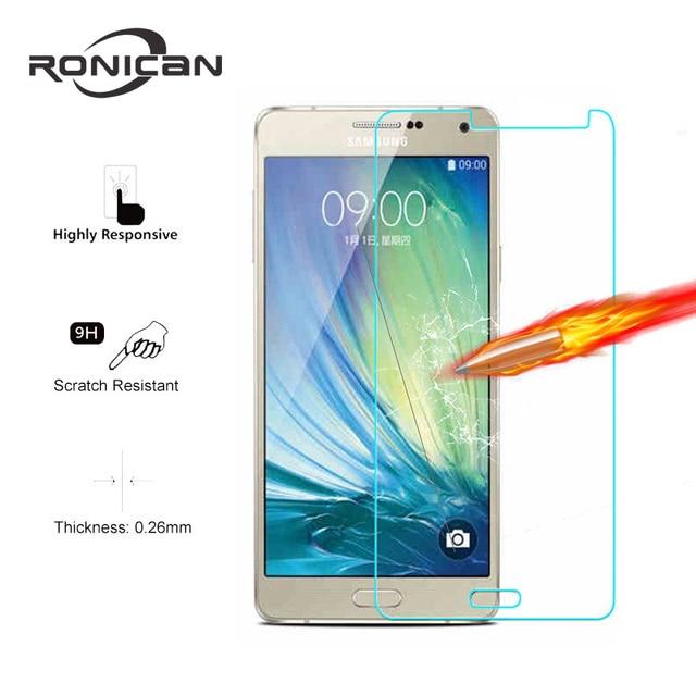 Ekran koruyucu temperli cam Samsung Galaxy A8 2018 A3 A5 A7 2017 J4 J6 A6 J1 J2 J3 J5 j7 2016 S3 S4 S5 S6 not 3 4 5Film