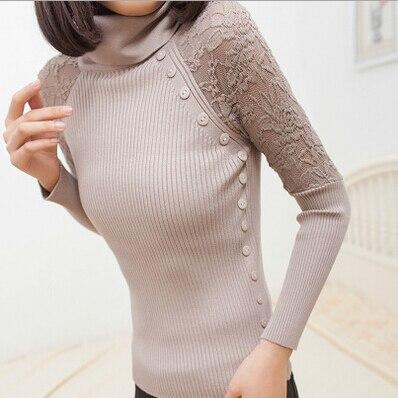 Neploe Women Sweater Knitted Pullover Female Long Sleeve