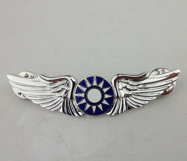 chinese us army air force a v g pilot wings flying tigers pin