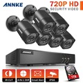 ANNKE 8CH 1080N TVI P2P DVR 6x 1500TVL IR In/Outdoor Security Camera System 1TB