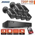 TVI 1080N ANNKE 8CH P2P DVR 6x 1500TVL IR En/Al Aire Libre Sistema de Cámaras de Seguridad 1 TB