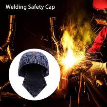 Защитная шапка для сварщика, шапка, шарф, огнестойкий хлопок, защитный шлем, головка, полная защита, противоожоговые аксессуары