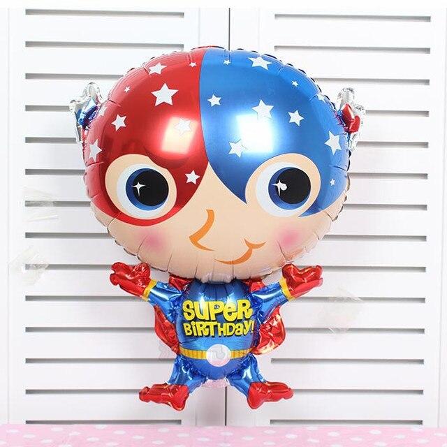 50 Stks Leuke Captain America Superman Hero Ballonnen Gedrukt Super