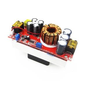 Image 4 - 1800W 40A 1500W 30A 1200W 20A DC DC Boost Converter zwiększona moc moduł zasilający 10 60V do 12 90V regulowane napięcie ładowarka