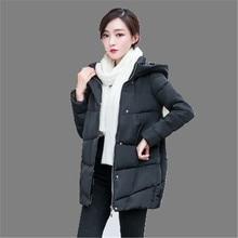 2016 Winter Maternity Jacket Big Yards Hooded Down Jacket Coat Thicken Padded Jacket Maternity Slim Long Outerwear Parka AK009