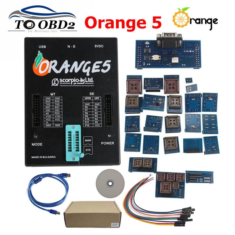 OEM Orange5 programmer orange 5 programmer with full adapters ORANGE 5 Professional Programming Device Hardware without