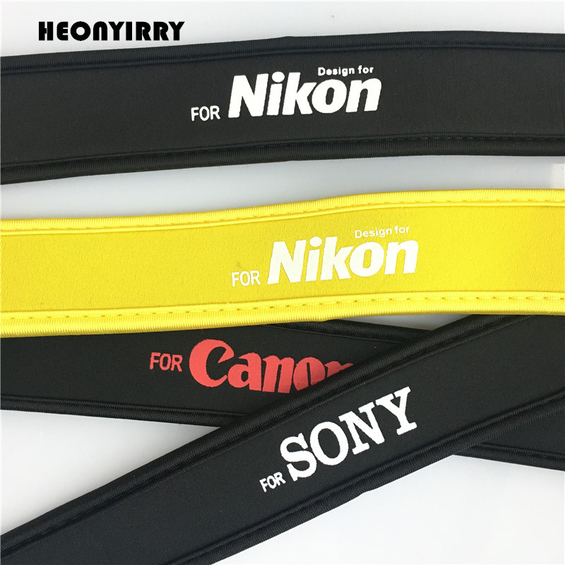 Hot DSLR Camera Strap Flexible Shoulder Neck Belt Cotton Camera Straps for Sony Canon Nikon Pentax Panasonic Neck Belts