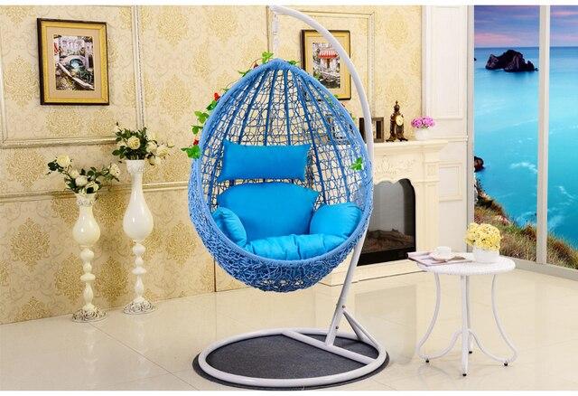 Hangmat Op Balkon : Balkon enkele volwassen kleine mand opknoping stoel indoor en