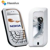 Rénové Nokia 7610 d'origine téléphone mobile Bonne qualité à faible prix téléphones cellulaires livraison gratuite