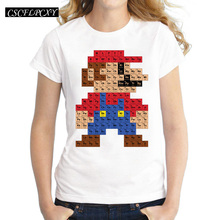 Buy periodic table design and get free shipping on aliexpress 2017 new fashion periodic table design women t shirt short sleeve tops novelty mario printing urtaz Gallery