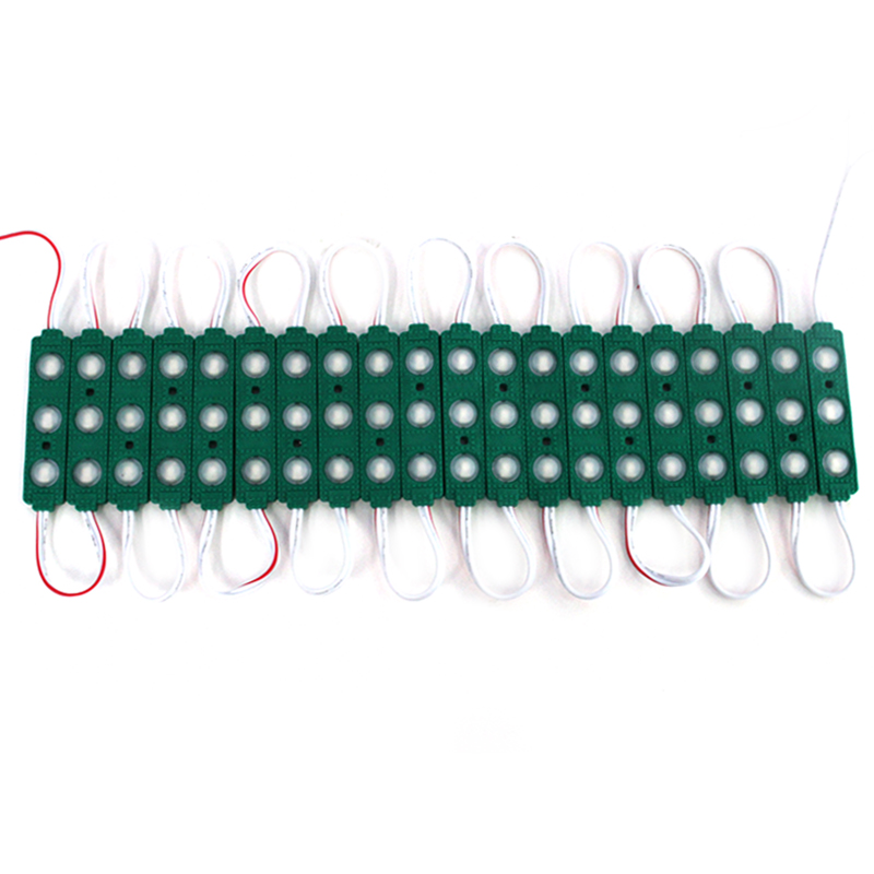 300pcs/lot 5730 3 LED 1.5W Injection Molding MODULE Waterproof Warm White White Red/Green/Blue/yellow Light 12V LED Advertising