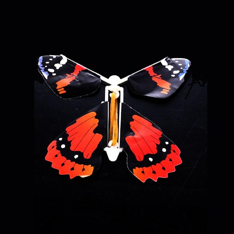 50 pcs/pack jouet magique Transformation mouche papillon accessoires tour de magie changer les mains drôle blague blague mystique plaisir jouet Surprise cadeau - 3