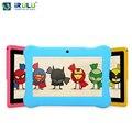 """Y1 iRULU 7 """"BabyPad Для Образования Детей Quad Core Android Tablet PC для Детей RAM 1 ГБ ROM 0.3MP 8 ГБ Силиконовый Чехол подарок Горячие"""