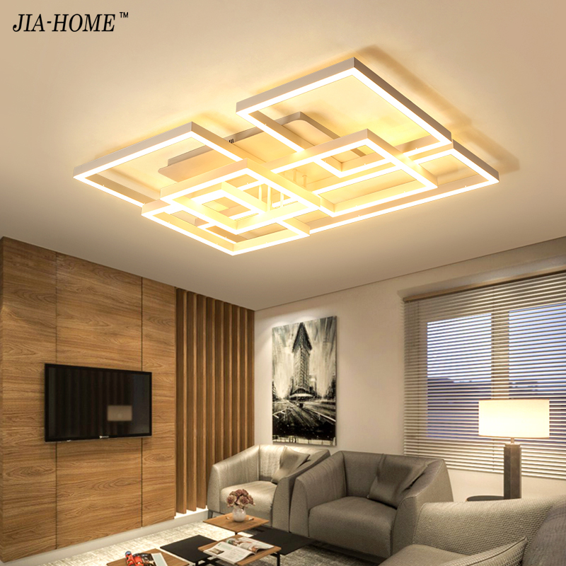 NEW ceiling lights for living room bedroom Foyer modern led ceiling lamp dimming home lighting luminarias Plafonnier цена