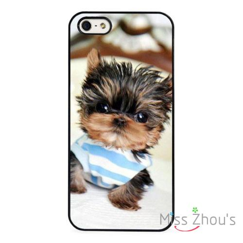 For iphone 4/4s 5/5s 5c SE 6/6s plus ipod touch 4/5/6 skins mobile cellphone cases cover Yorkie Puppy Yorkshire Terrier Cute