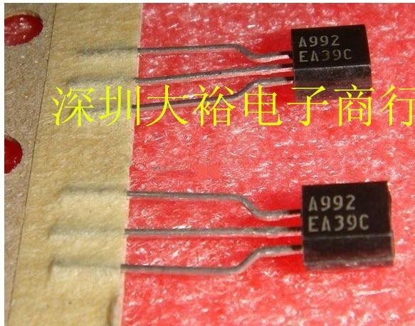 20PCS 2SA992 TO-92 2SC1845 TO92 10pairs (10PCS A992 + 10PCS C1845)  New