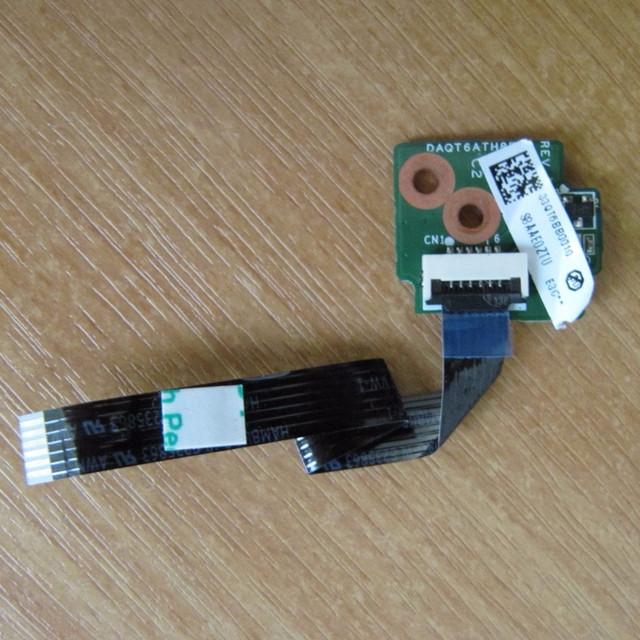 Original junta botón del interruptor con cable para hp dv5 dv5-1000 envío gratis