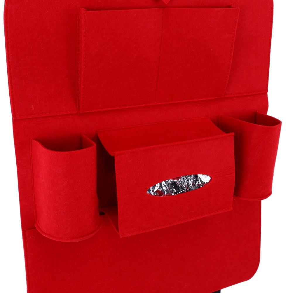 자동 멀티 포켓 뒷자리 수납 가방 카시트 주최자 - 자동차 인테리어 용 액세서리 - 사진 5