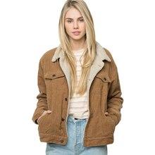 2018 Для женщин одежда верблюд теплый жакет женский двойные карманы Chic куртка женская уличная Краткая мягкая Пальто для будущих мам для оптовая продажа