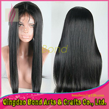 brazilian silky straight human hair lace front wig 130 denisty glueless full lace human hair wigs with baby hair