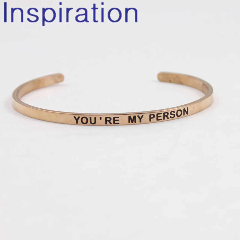 Detail Feedback Questions About Youre My Person 4mm Width Mantra