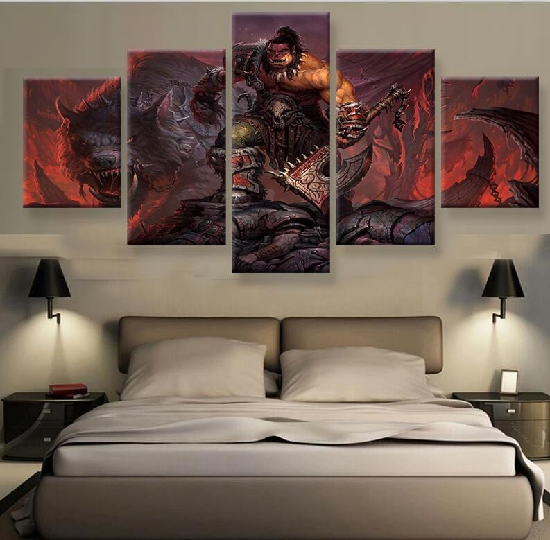 World Of Warcraft Paintings For Sale