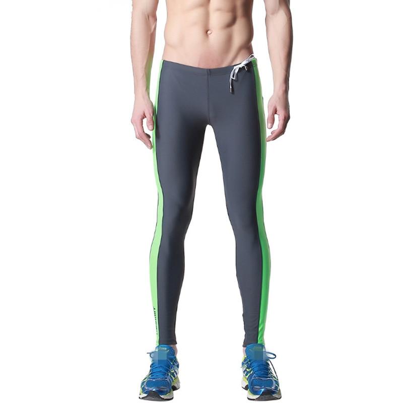 eb572357adb43 Desmiit Swim Trunks Sexy Swimwear Men Swimming Pants for Men Tights Low  Waist Long Swimsuits Summer