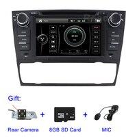 2 din dvd плеер автомобиля для BMW E90 E91 E92 E93 с gps Bluetooth радио