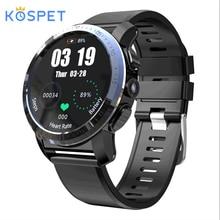 Kospet Optimus Pro 3 ГБ 32 ГБ 800 мАч батарея двойные системы 4G Смарт часы телефон водонепроницаемый 8.0MP 1,39 «Android 7.1.1 умные часы для мужчин