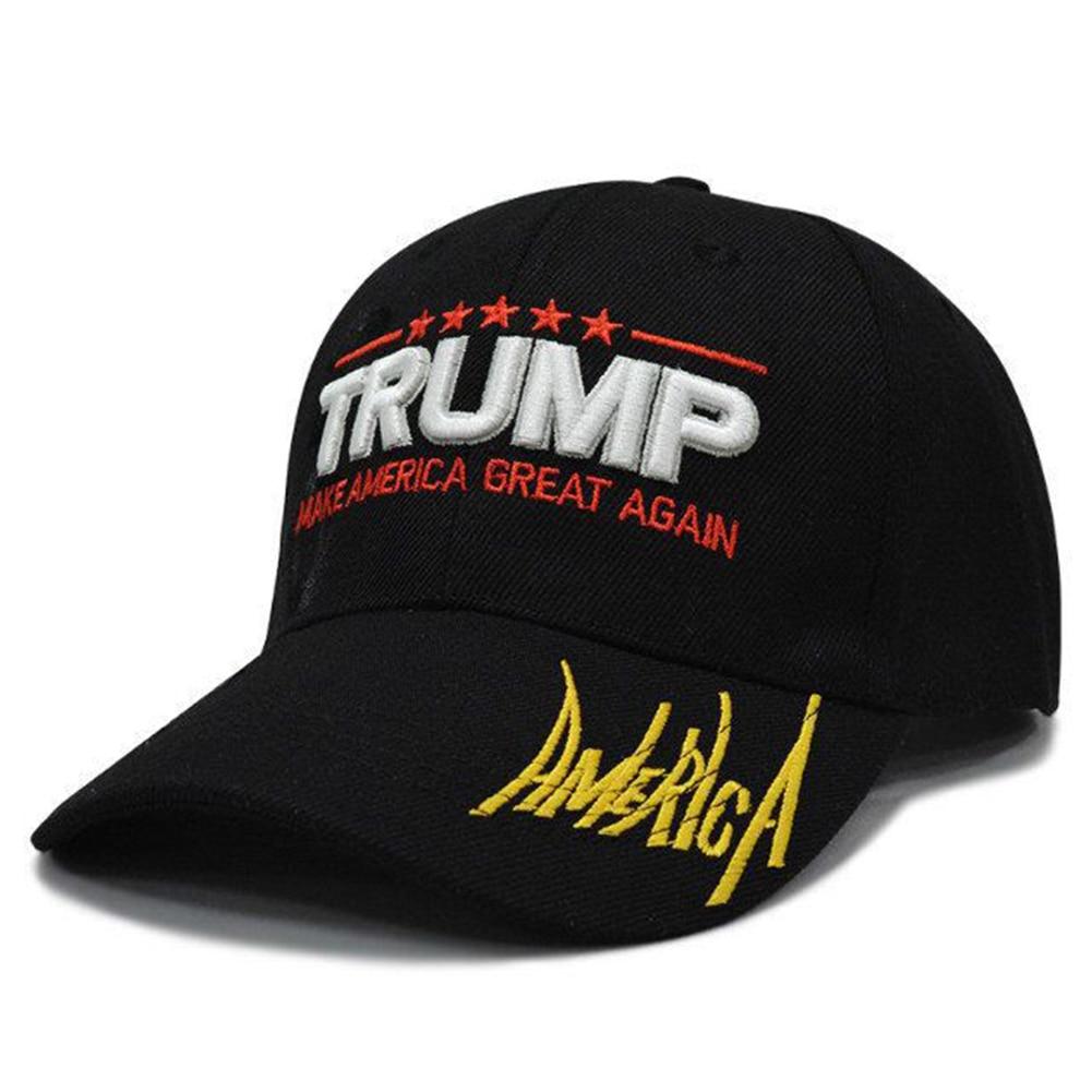Hat Breathable Letters Hip-Hop Outdoor Snapback Fashion Canvas Adjustable   Baseball     Cap   Men Women Casquette Casual For Trump 2020