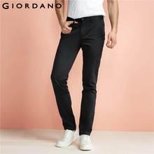 Джордано мужские Брендовые брюки цвета хаки slim taper качества брюки повседневные хлопковые современный Хомбре социальной masculina(China (Mainland))