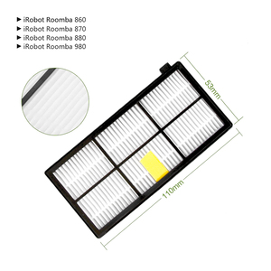 Image 3 - Brush+Filter Convenience Sets for iRobot Roomba 800 Series 860 865 866 870 880 885 886 890 900 960 966 980 Robot Vacuum Cleaner