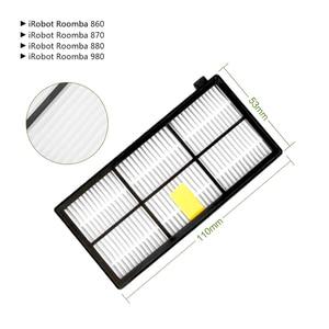 Image 3 - Ensembles Brosse+Filtre pour iRobot Roomba 800 Series 860 865 866 870 880 885 886 890 900 960 966 980 Robot Aspirateur