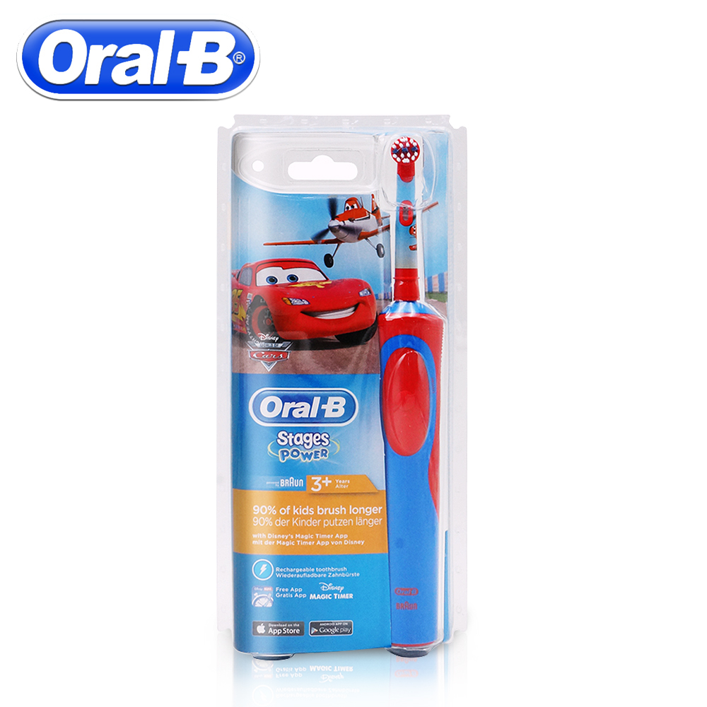 Oral B Children Electric Toothbrush Oral Care Soft Bristle Stage Power Tooth brush For Kids Waterproof Brush Teeth