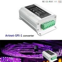 led Artnet SPI converter;DC5 24V input;SPI(TTL)digital signal output for WS2811/WS2812/LPD6803 led strip Fast shipping