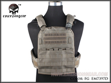 EMERSON CP Style Adaptive Vest Heavy Version Airsoft Combat Molle Vest EM7397 Foliage Green