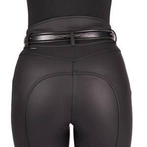 Image 5 - 女性乗馬パンツ馬術ズボンスポーツレギンス女性膝パッチ Jodphurs 乗馬パンツ
