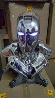 2016 Новый горячий Железный человек 1/1 Железный человек MK2 Железный человек бюст отделка код покрытие версия