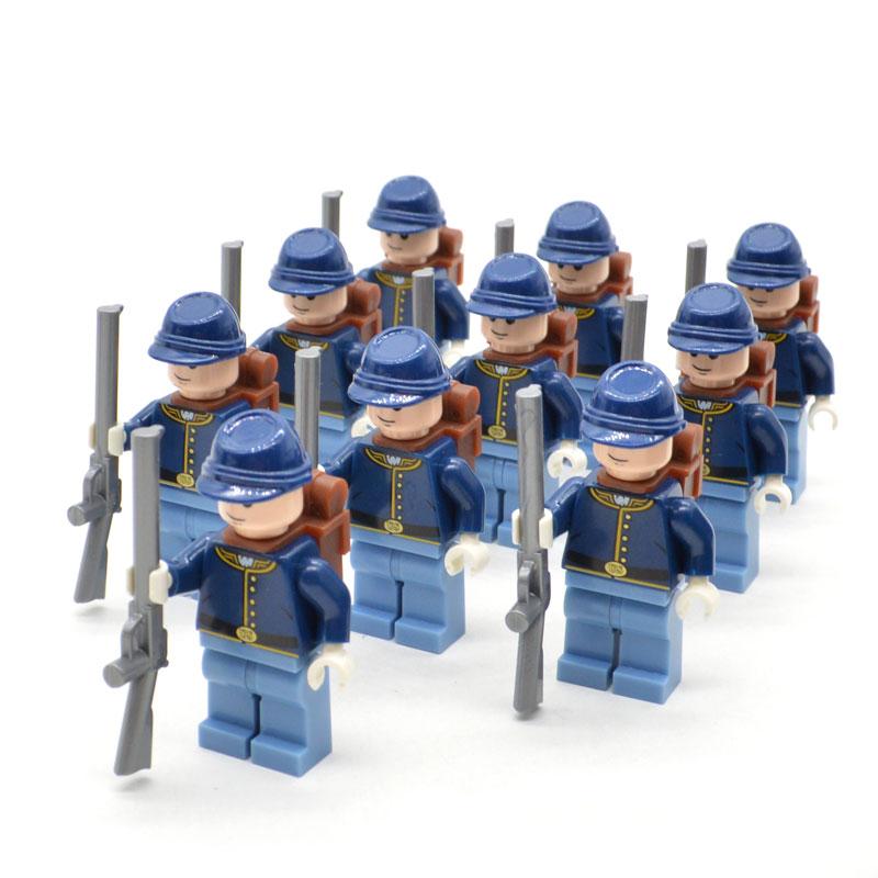 NEW 2019 American Civil War Soldier North US Revolutionary War MOC Building Blocks Bricks Construction Toys